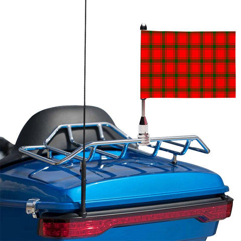 MacDonald of Sleat Clan Tartan Motorcycle Flag