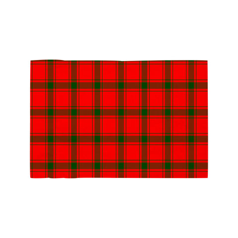 Image of MacDonald of Sleat Clan Tartan Motorcycle Flag