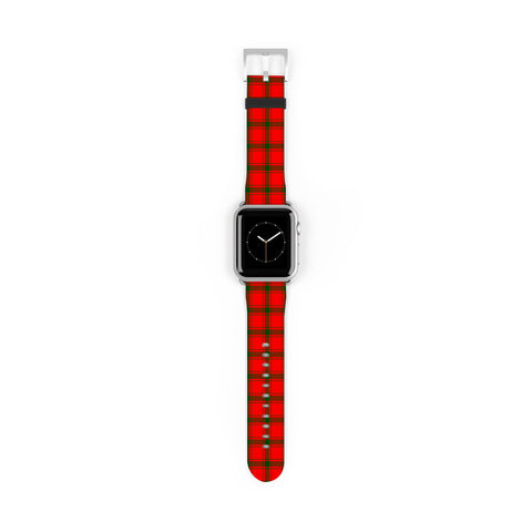 Image of MacDonald of Sleat Scottish Clan Tartan Watch Band Apple Watch