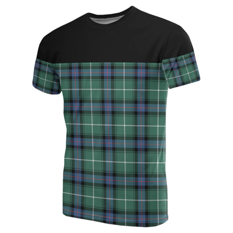 Image of Tartan Horizontal T-Shirt - Macdonald Of The Isles Hunting Ancient