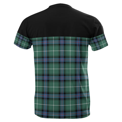 Image of Tartan Horizontal T-Shirt - Macdonald Of The Isles Hunting Ancient - BN