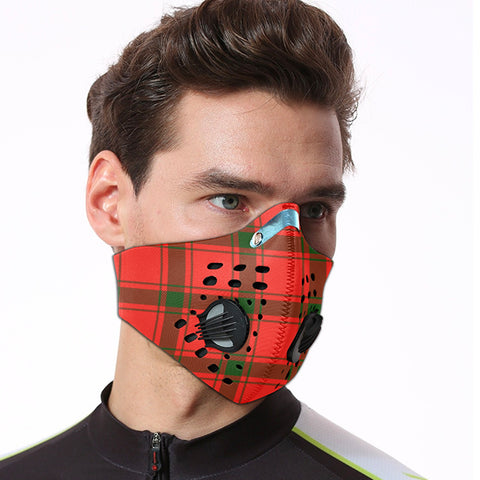 Image of MacDonald of Sleat Tartan Dust-proof Sports Masks ( Model 1) - TH88 (USA Shipping Line)