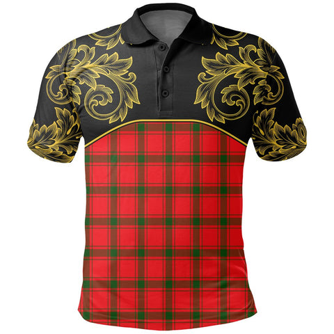 MacDonald of Sleat Tartan Clan Crest Polo Shirt - Empire I - HJT4 - Scottish Clans Store - Tartan Clans Clothing - Scottish Tartan Shopping - Clans Crest - Shopping In scottishclans - Polo Shirt For You