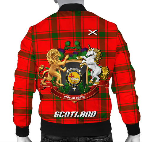 Image of MacDonald of Sleat | Tartan Bomber Jacket | Scottish Jacket | Scotland Clothing