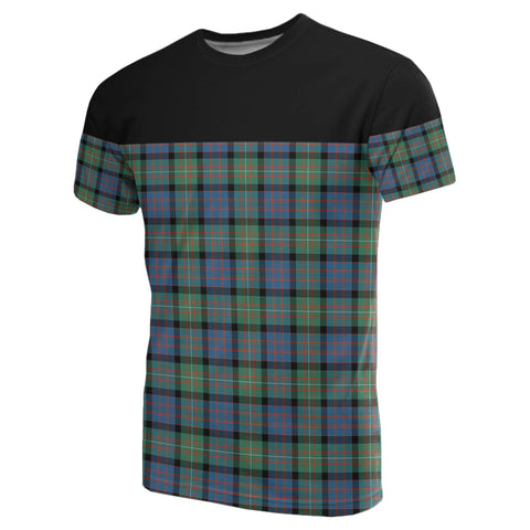 Tartan Horizontal T-Shirt - Macdonnell Of Glengarry Ancient