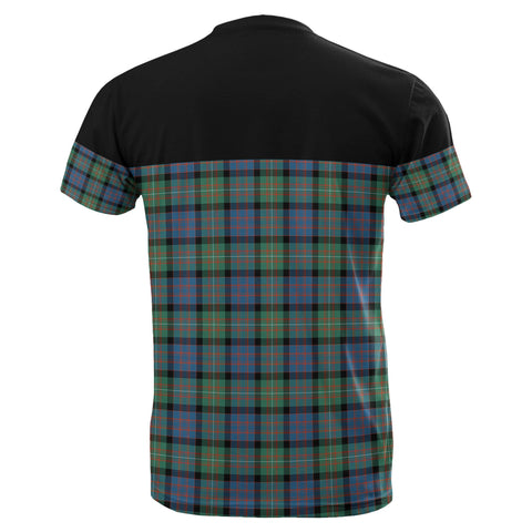 Image of Tartan Horizontal T-Shirt - Macdonnell Of Glengarry Ancient - BN