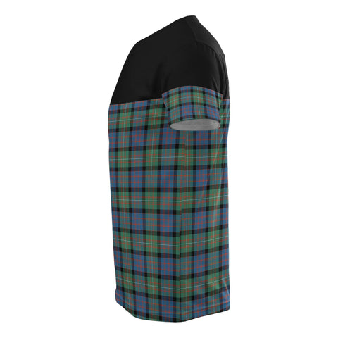 Tartan Horizontal T-Shirt - Macdonnell Of Glengarry Ancient - BN