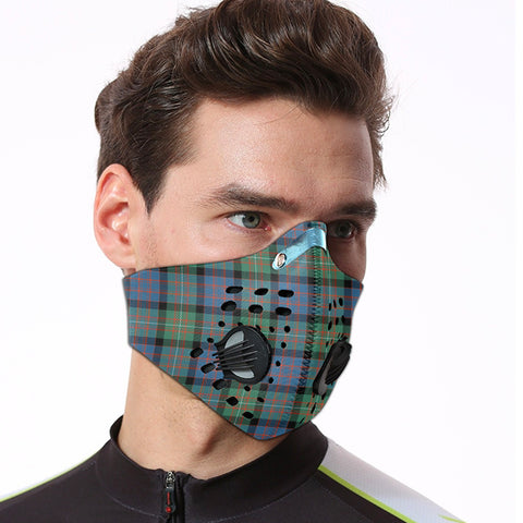 Image of MacDonnell of Glengarry Ancient Tartan Dust-proof Sports Masks ( Model 1) - TH88 (USA Shipping Line)