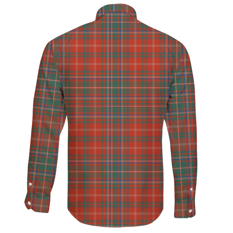 MacDougall Ancient Tartan Clan Long Sleeve Button Shirt A91