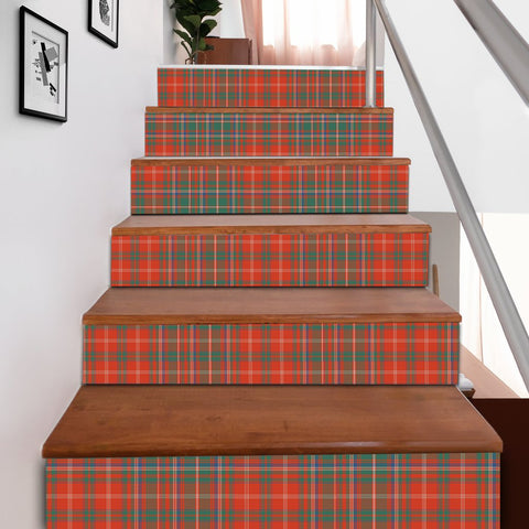 Scottishshop Tartan Stair Stickers - MacDougall Ancient Stair Stickers A91