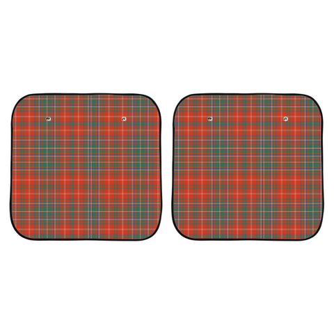 MacDougall Ancient Clan Tartan Scotland Car Sun Shade 2pcs K7