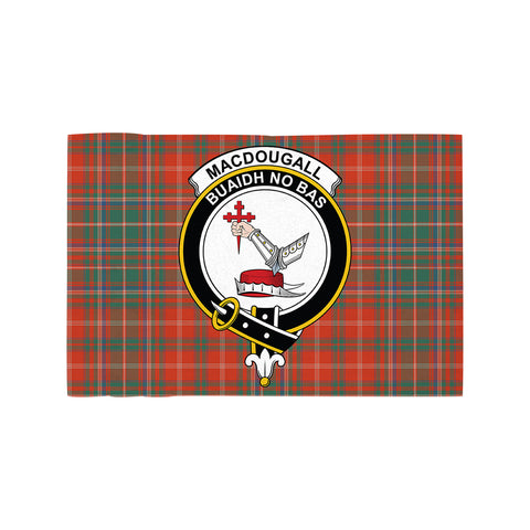 MacDougall Ancient Clan Crest Tartan Motorcycle Flag