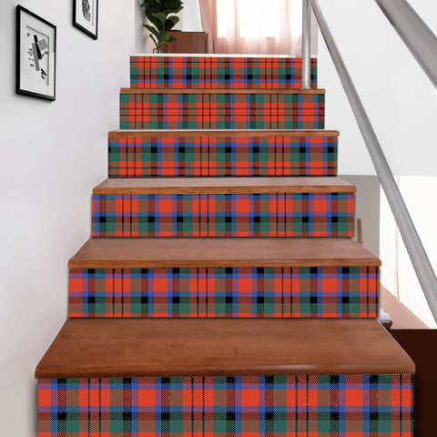 Image of Scottishshop Tartan Stair Stickers - MacDuff Ancient Stair Stickers A91