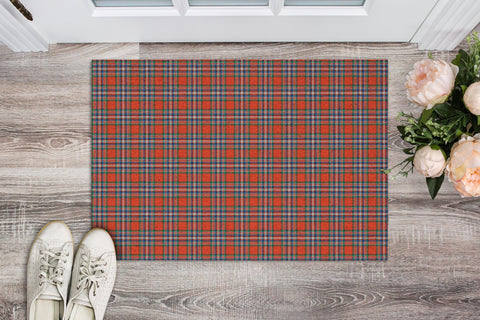 MacFarlane Ancient Tartan Carpets Front Door A91