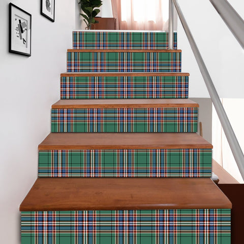 Scottishshop Tartan Stair Stickers - MacFarlane Hunting Ancient Stair Stickers A91