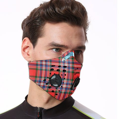 Image of MacFarlane Modern Tartan Dust-proof Sports Masks ( Model 1) - TH88 (USA Shipping Line)