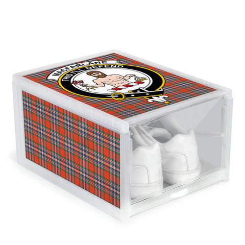 MacFarlane Ancient Clan Crest Tartan Scottish Shoe Organizers