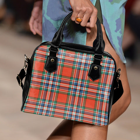 MacFarlane Ancient Tartan Shoulder Handbag for Women | Hot Sale | Scottish Clans