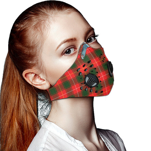 MacFie Tartan Dust-proof Sports Masks ( Model 1) - TH88 (USA Shipping Line)