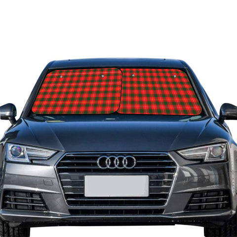 Image of MacFie Clan Tartan Scotland Car Sun Shade 2pcs
