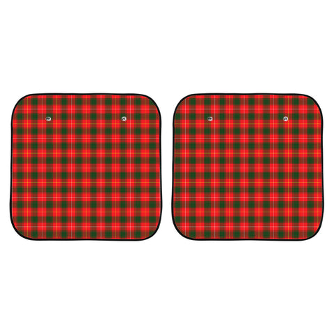 Image of MacFie Clan Tartan Scotland Car Sun Shade 2pcs K7