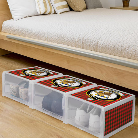 Image of MacFie Clan Crest Tartan Scottish Shoe Organizers K9