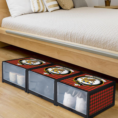 MacFie Clan Crest Tartan Scottish Shoe Organizers K9