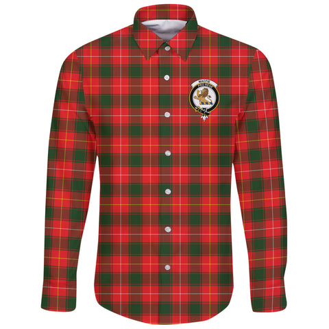 Image of MacFie Tartan Clan Long Sleeve Button Shirt | Scottish Clan