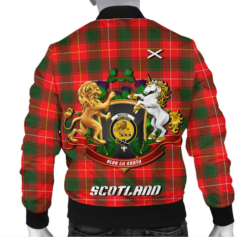 MacFie | Tartan Bomber Jacket | Scottish Jacket | Scotland Clothing