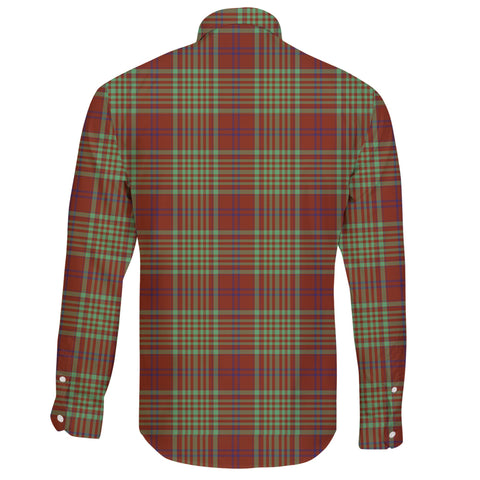 MacGillivray Hunting Ancient Tartan Clan Long Sleeve Button Shirt A91