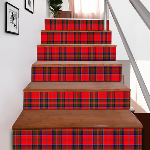 Scottishshop Tartan Stair Stickers - MacGillivray Hunting Ancient Stair Stickers A91
