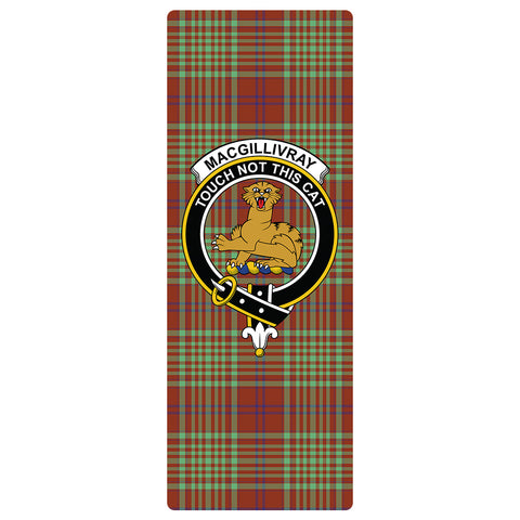 Image of MacGillivray Hunting Ancient Clan Crest Tartan Yoga mats