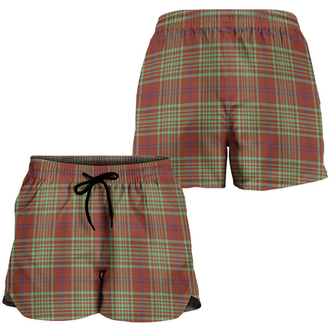 MacGillivray Hunting Ancient Crest Tartan Shorts For Women K7