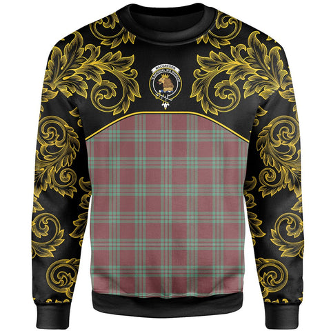 Image of MacGregor Hunting Ancient Tartan Clan Crest Sweatshirt - Empire I - HJT4 - Scottish Clans Store - Tartan Clans Clothing - Scottish Tartan Shopping - Clans Crest - Shopping In scottishclans - Sweatshirt For You
