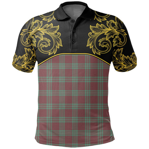 MacGregor Hunting Ancient Tartan Clan Crest Polo Shirt - Empire I - HJT4 - Scottish Clans Store - Tartan Clans Clothing - Scottish Tartan Shopping - Clans Crest - Shopping In scottishclans - Polo Shirt For You
