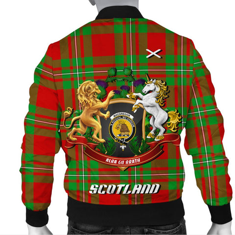 MacGregor Modern | Tartan Bomber Jacket | Scottish Jacket | Scotland Clothing