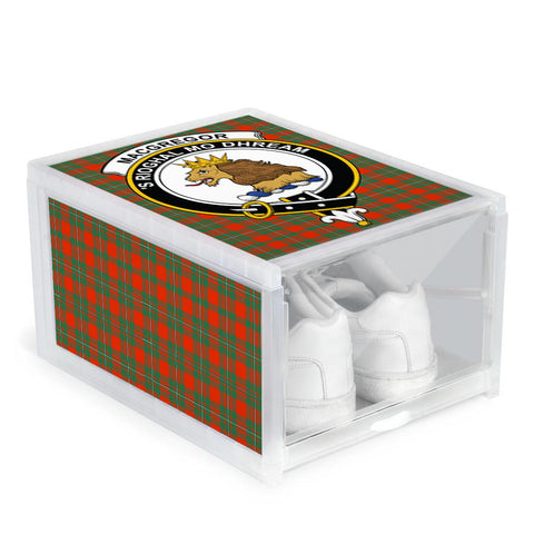 MacGregor Ancient Clan Crest Tartan Scottish Shoe Organizers