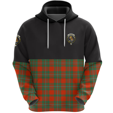 MacGregor Ancient Clan Hoodie Half Of Tartan