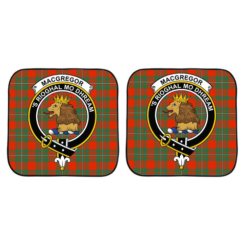 MacGregor Ancient Clan Crest Tartan Scotland Car Sun Shade 2pcs K7