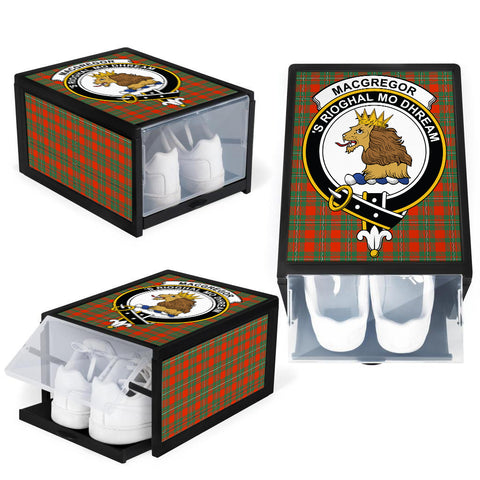 MacGregor Ancient Clan Crest Tartan Scottish Shoe Organizers K9