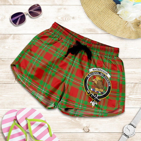 MacGregor Modern crest Tartan Shorts For Women