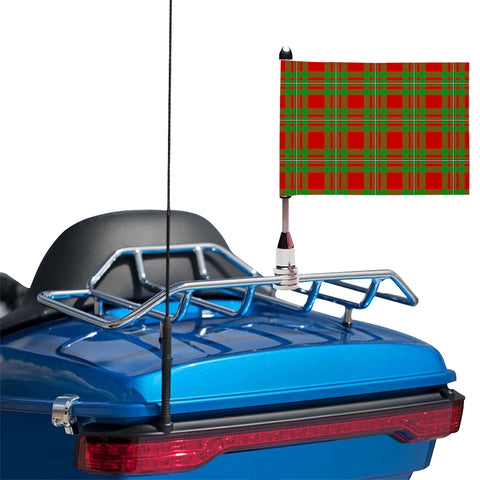 Image of MacGregor Modern Clan Tartan Motorcycle Flag