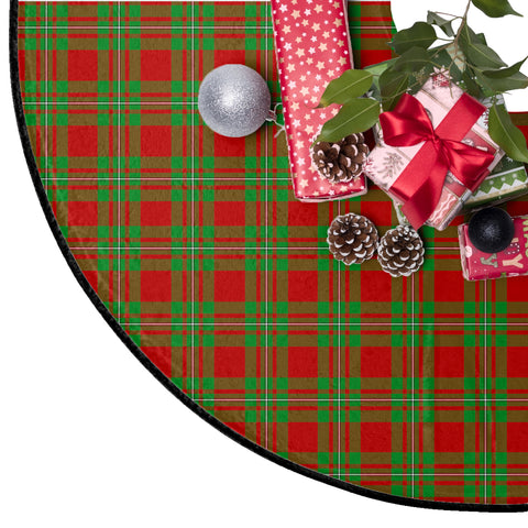 Image of MacGregor Modern Tartan Tree Skirt Christmas