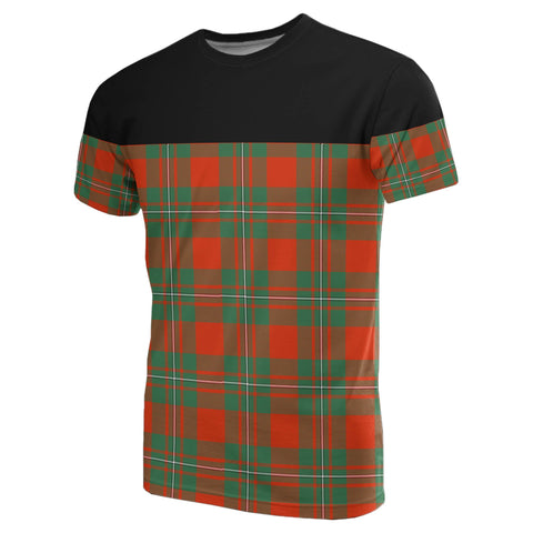 Tartan Horizontal T-Shirt - Macgregor Ancient
