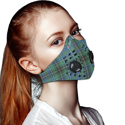 MacInnes Ancient Tartan Dust-proof Sports Masks ( Model 1) - TH88 (USA Shipping Line)