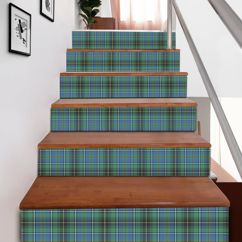 Scottishshop Tartan Stair Stickers - MacInnes Ancient Stair Stickers A91