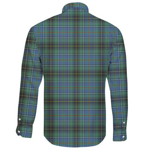 MacInnes Ancient Tartan Clan Long Sleeve Button Shirt A91