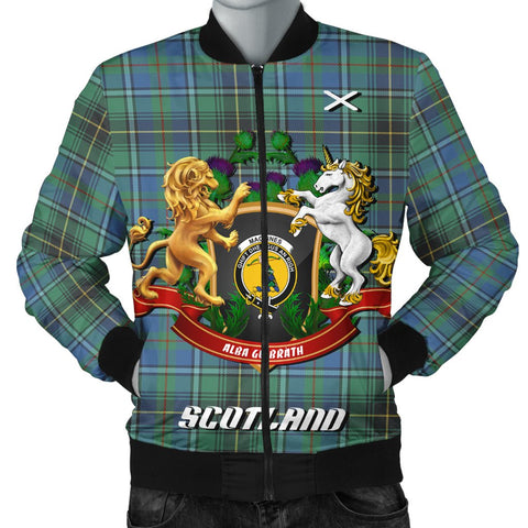 MacInnes Ancient | Tartan Bomber Jacket | Scottish Jacket | Scotland Clothing