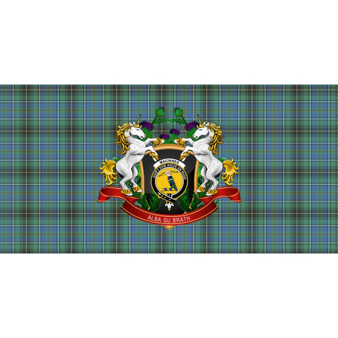 MacInnes Ancient Crest Tartan Tablecloth Unicorn Thistle A30