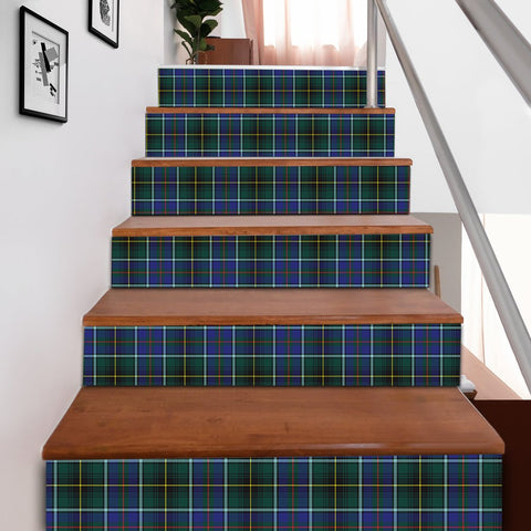Scottishshop Tartan Stair Stickers - MacInnes Modern Stair Stickers A91